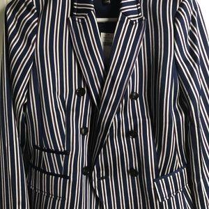 NWT size 2 Banana Republic polyester jacket